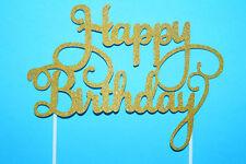 Happy Birthday Diy Cake Topper Tortendekoration Kuchenfiguren Backen Eventdeko