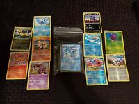 50 Pokemon Cards Lot with 5 FOILS and 5 RARES No Duplicates!!! FREE SHIPPING
