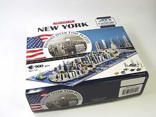 The City of New York - 4D CITYSCAPE Time Puzzle - 900+ pieces, Ages 14+ VG Condi