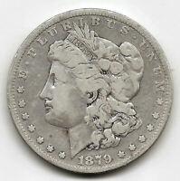 U.S.A. 1 Dolar Morgan 1879  @ Bella pieza @ plata