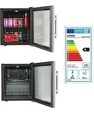 Mini Fridge Syntrox MBC-46-C,Stainless Steel, Hotelkühlschrank, bar, Glass Door