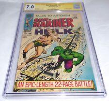 Tales to Astonish #100 CGC SS Signature Autograph STAN LEE Hulk vs Sub-Mariner