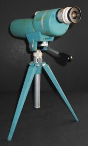 Vintage 1970's Sight Master SPOTTING SCOPE WITH TRIPOD by Weatherby  20X -45X