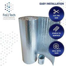 Foiltech Superfoil Insulation 1m x 7m Garage Doors, Floors, Lofts & Free tape