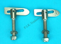 M12 Threaded Antiluce 19mm Nut Bolt Fasteners Tailgate Drop Catch TR234