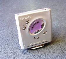 SONY Walkman MZ-E505 Portable MiniDisc Player Japan powered spares/repair silver