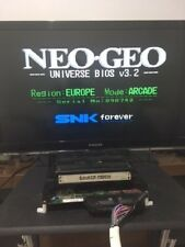 NEO GEO MVS MV1FZ UNIBIOS 3.2 MOTHERBOARD  with SAVAGE REIGN  WORKING Jamma SNK