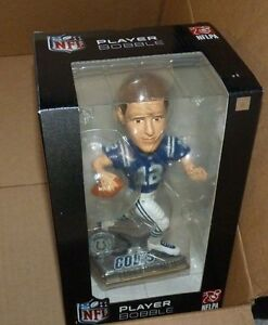 NEW NFL Andrew Luck Indianapolis Colts Bobblehead Player Bobble NEW NIB NWT