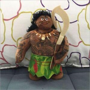 "New Hot Disney Movie Moana Cartoon 8""/20cm Maui Cute Soft Plush Dolls Toys Gifts"