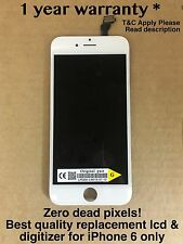 Genuine Quality Replacement Lcd Touch  Screen For Original Apple iPhone 6 White