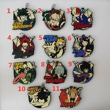 Boku no Hero Academia Rubber Keychain Key Ring Race Straps cosplay