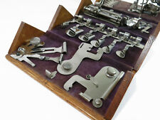 Restored Antique Singer Puzzle Sewing Machine 1889 Oak Box
