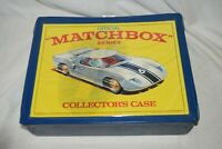 Vintage 1968 Official Matchbox Series Lesney 48 Car Collector's Case