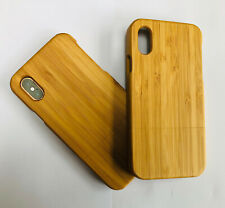 Wooden Bamboo iPhone X / XS Case Sustainable