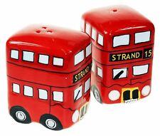Routemaster Bus Salt Pepper Set Novelty Ceramic London Classic Kitchen Fun Gift