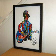 Robert Johnson Crossroad Guitar Player Delta Blues Musician Music 11x17 Print