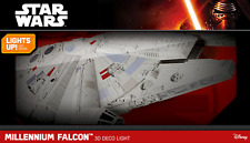 Millennium Falcon 3D Wall Light Star Wars The Last Jedi Night Light NEW