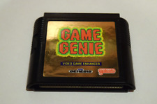 Game Genie Gold Video Game Enhancer Cart for Sega Genesis Console Game System