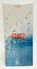 L'EAU 2 KENZO HOMME 3.4 OZ 100 ML EDT Spray NEW IN SEALED BOX