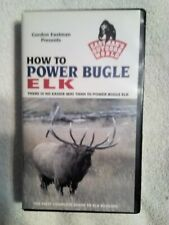 """""""How to Power Bugle Elk"""" Vhs by Gordon Eastman The First Complete Guide"""