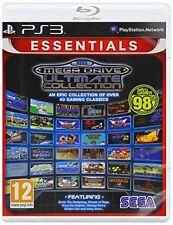 Arcade Sega Mega Drive PAL Video Games with Manual