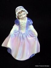 Royal Doulton Dinky Do HN1678 Girl Pink/Blue Dress Figurine England