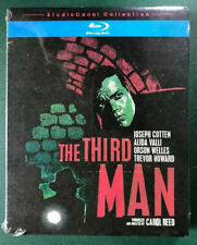 The Third Man (Blu-ray + Slipcover) Orson Welles, 1949, MINT SEALED, Ohio seller