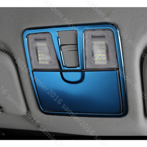 fit for HYUNDAI Elantra 2011-2016 2pc blue stainless Read the lamp trim Cover