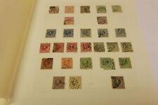 Netherlands Stamp Album Page