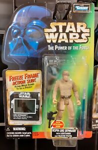 Figurine Star Wars Luke Skywalker Bespin Vintage Kenner SW Neuf 1997 no Vador