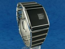 70s 1970s rétro vintage rotolog style led lcd digital era watch jump hour s