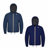 Giacca Giubbotto con Cappuccio K-WAY Jacques Ripstop Marmotta Jacket with hood U