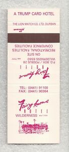 South Africa Matchbook Cover-Fairy Kowne Hotel in Wilderness-9011
