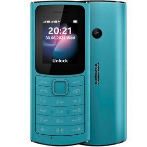 BRAND NEW NOKIA 110 4G LTE DUAL SIM 2021 FM CAMERA TURQUOISE UNLOCKED