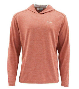 Simms BugStopper Hoody - Simms Orange - L - Close Out Sale & Free US Shipping