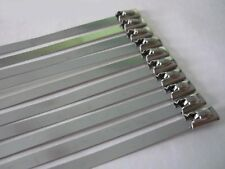 Metal Cable Ties 150mm 10 pcs stahlbinder Steel Tape Insulating Wrap Exhaust