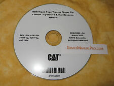 SEBU6888 CAT Caterpillar D6M Track Type Tractor Operation Maintenance Manual CD