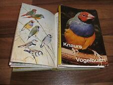 Knaurs:  VOGELBUCH / Bestimmungsbuch für Vogelfreunde + Liebhaber 1957
