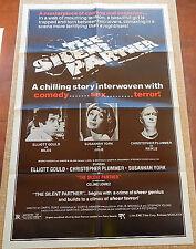 Silent Partner MoviePoster, Original, Folded, 1 Sheet, Sussanah York, 1979, USA
