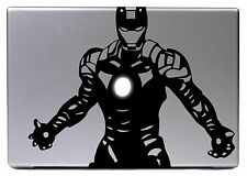 "Apple MACBOOK AIR PRO 13"" IRONMAN MARVEL HERO Adesivo STICKER SKIN DECAL 065"