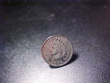 1902 INDIAN COPPER CENT TIE TACK PIN!   BB72XSC2