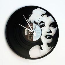 Marilyn Monroe Vinyl Record Wall Clock Home Decor Fan Art