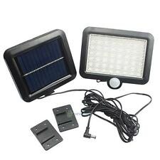 56 LED Solar Power Motion Sensor Security Flood Light Outdoor Garage Light White