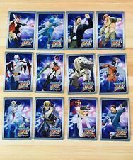2010 Tatsunoko vs Capcom Wii Collectible 12 Lenticular Trading Card Complete Set