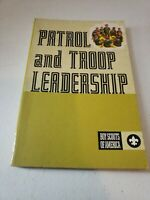 1972 Patrol and Troop Leadership Vintage Boy Scouts of America BSA Book