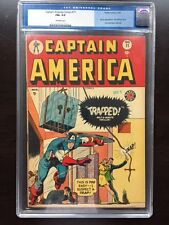 CAPTAIN AMERICA #71 CGC FN+ 6.5; OW; Tough to Find!