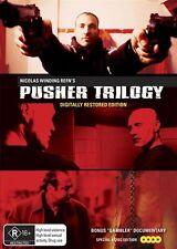 Pusher Trilogy | Boxset : Digitally Restored (DVD, 2017, 4-Disc Set) (Region 4)