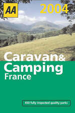 Very Good, AA Caravan & Camping in France 2004 (AA Lifestyle Guides), , Book