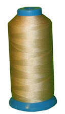 Army Tan Bonded Nylon sewing Thread #207 T210 Upholstery canvas leather 1000Y