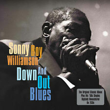 Sonny Boy Williamson DOWN AND OUT BLUES + TRUMPET SINGLES New 2 CD